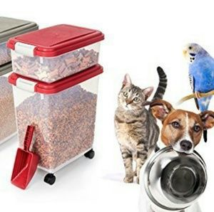 Pet airtight food container
